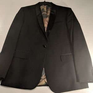 JF J FERRAR BLACK JACKET CAMO XL